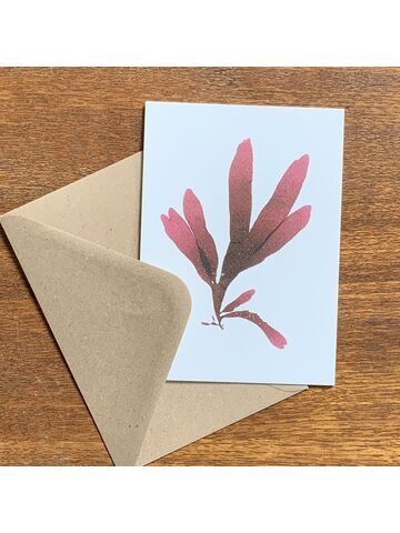 Dulse Greetings Card