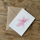 Sea Beech (pale pink) Greeting Card additional 1