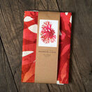 Seaweed Print Linen Union Tea Towel - Beautiful Fan Weed additional 2