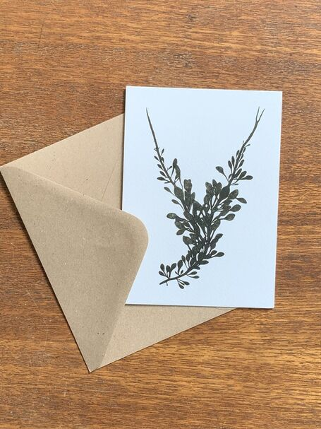 Knotted Wrack Greetings Card