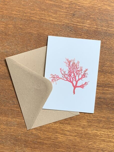 Berry Wart Cress Greetings Card